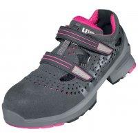 Chaussures de sécurité Uvex femme avec fermeture auto-agrippante, classe S1