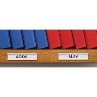 Porte-étiquettes adhésifs et étiquettes