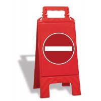 Chevalet de signalisation Sens interdit