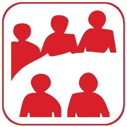 Autocollants d'information transparents Salle de réunion
