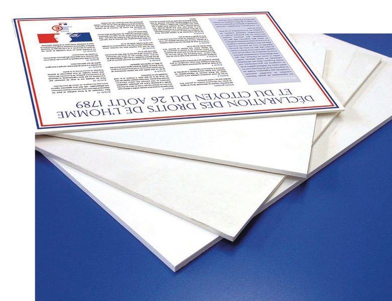 Affiche réglementaire de la Déclaration des Droits de l'Homme et du Citoyen (DDHC) - Seton