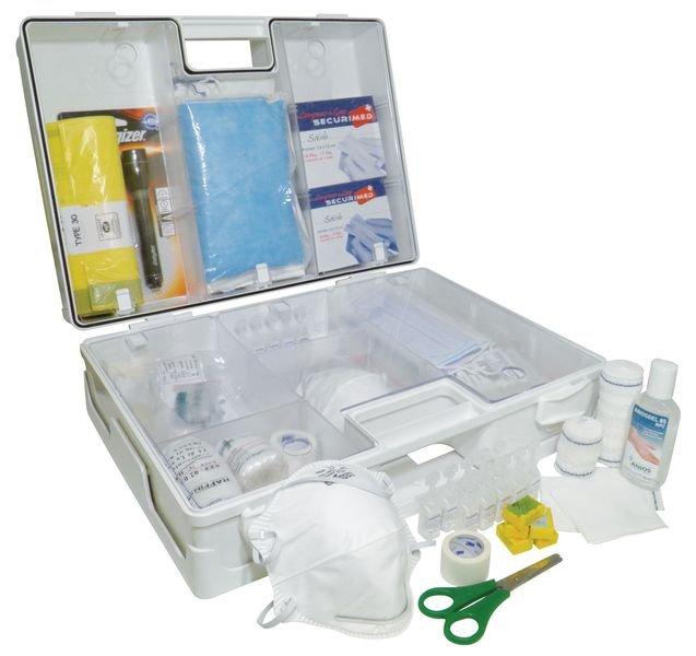 Trousse de secours rigide pour ambulance