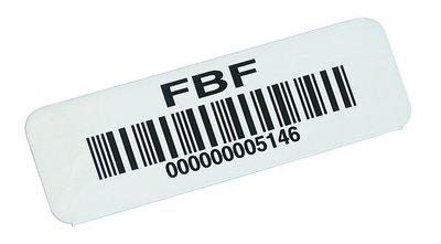 Etiquettes code à barres personnalisables en ligne - Etiquettes avec code-barres et/ou numérotation personnalisées