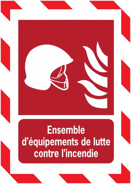 Porte-documents adhésifs à fermeture magnétique Ensemble d'équipements de lutte contre l'incendie - Seton