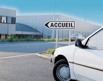 Panonceau personnalisable - Panneaux Parking