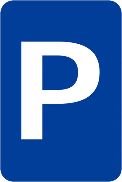 Panneau de signalisation Places de parking