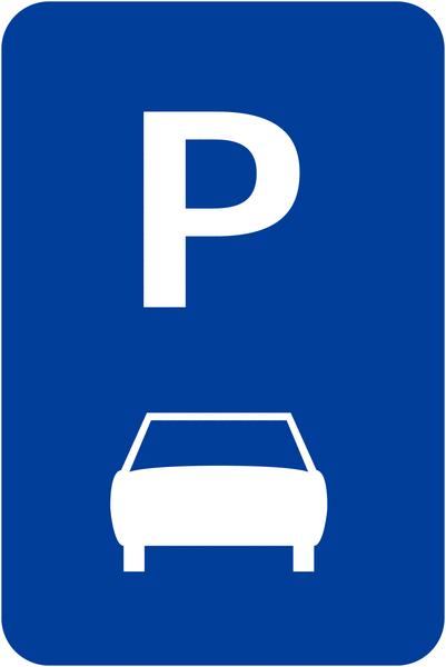 Panneaux de signalisation Parking voitures