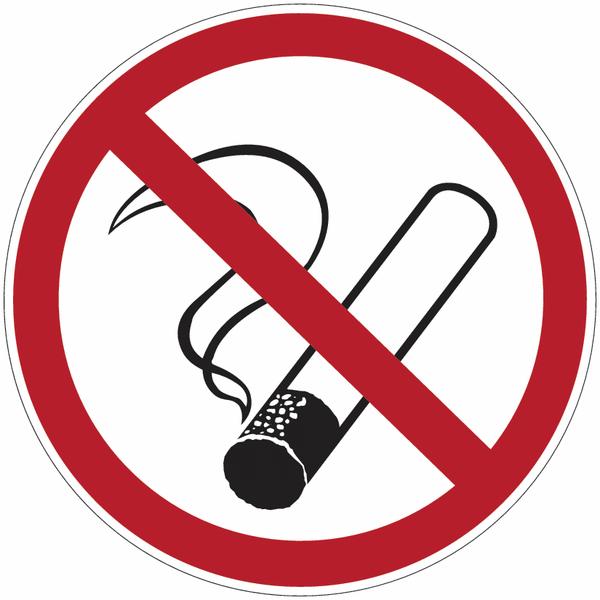 Panneau en aluminium réfléchissant Interdiction de fumer