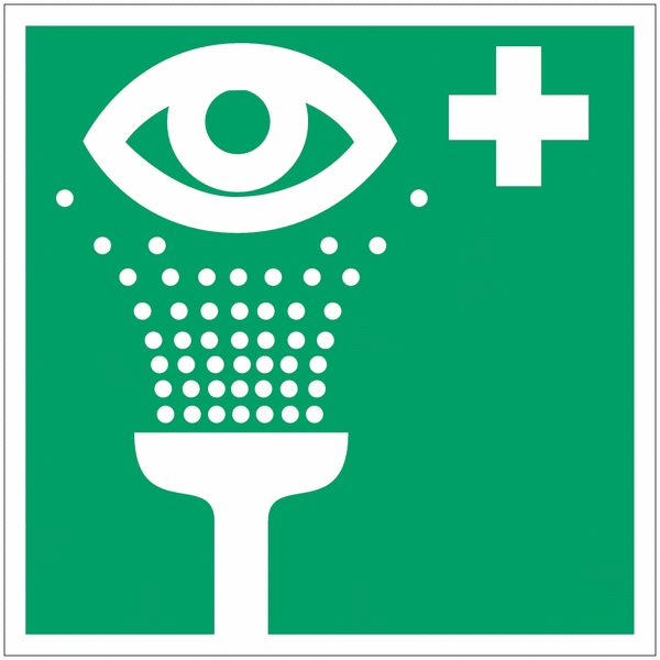 Coffret d'urgence oculaire 1 l de solution Saline - Seton