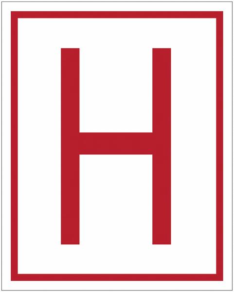 Panneaux de sécurité et incendie Hydrant souterrain