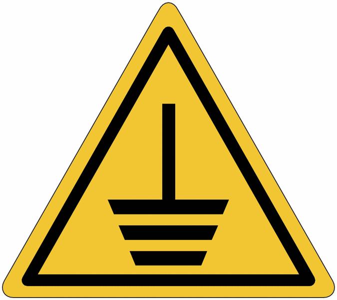 Lot de 3 rouleaux d'autocollants Mise à la terre (2+1 gratuit) - Seton