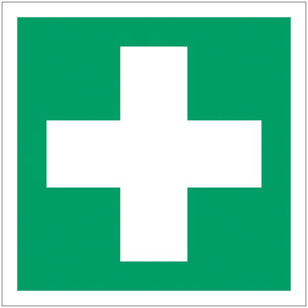 Mini autocollants d'urgence Premiers secours