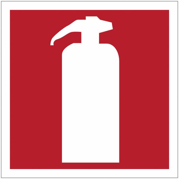 Mini autocollants d'incendie Extincteur d'incendie