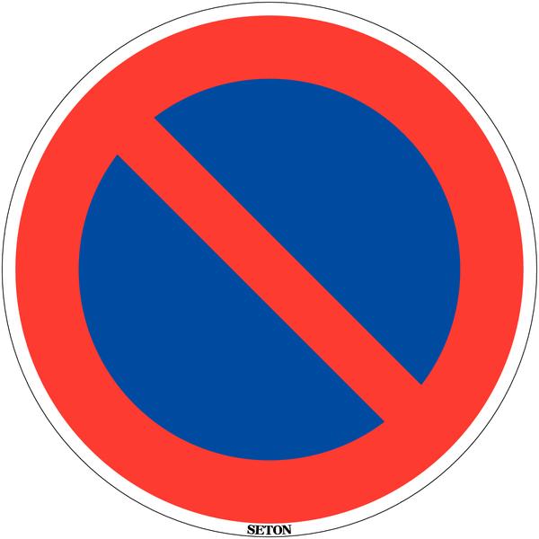 Panneau de circulation en PVC Stationnement interdit