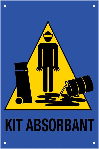 Panneau Signalisation de kit d'absorbants