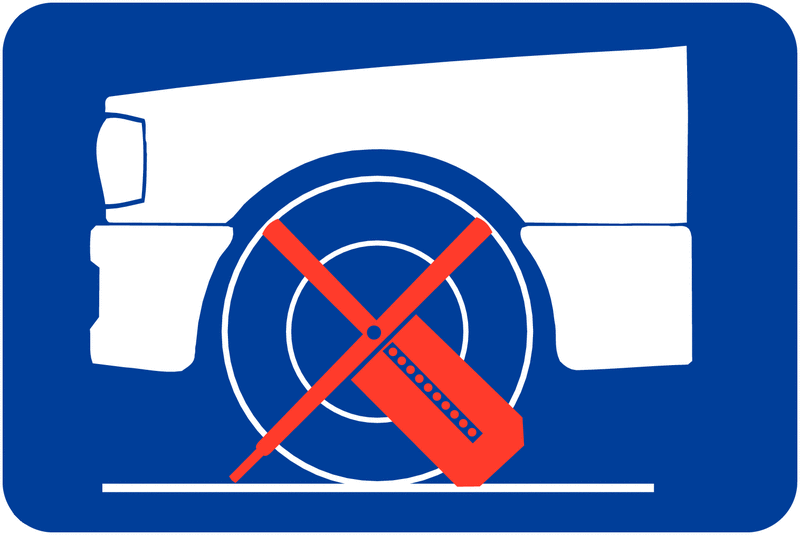 Panneau de signalisation Immobilisation du véhicule en cas d'infraction