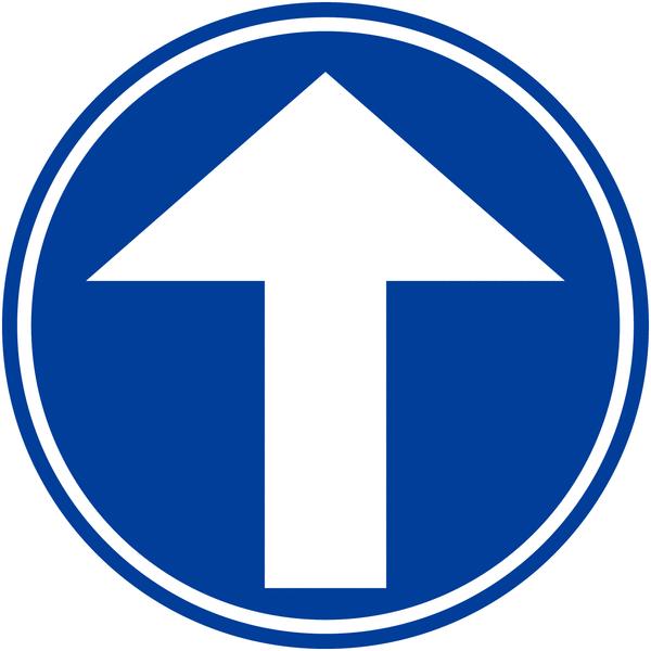 Panneau de signalisation temporaire en aluminium Flèche directionnelle orientable