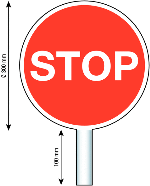 Panneau d'aide au trafic - Seton