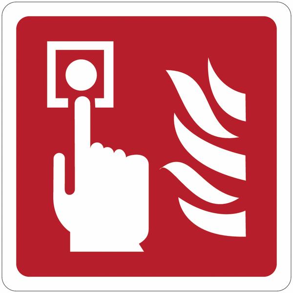 Signalisation de sécurité prestige Point d'alarme incendie
