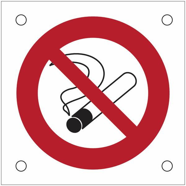 Plaques de signalisation pour machines Interdiction de fumer