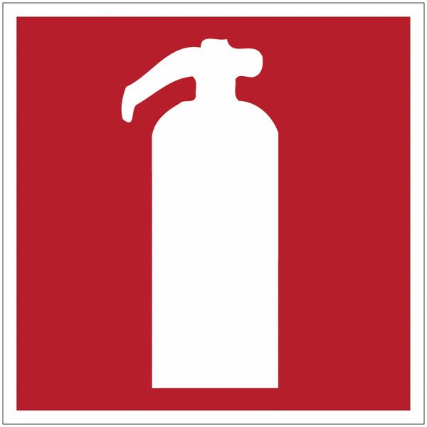 Panneau en polycarbonate Extincteur d'incendie