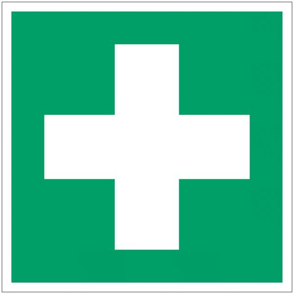 Etiquette d'évacuation Premiers secours