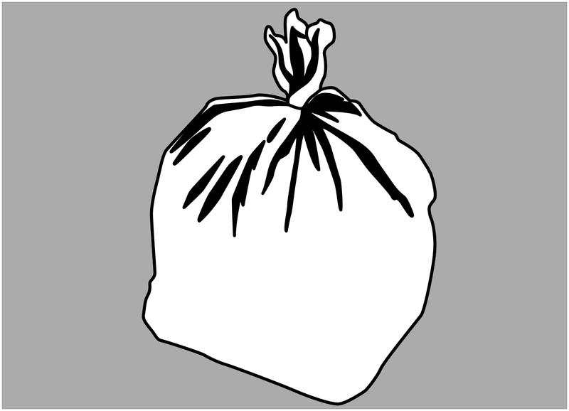 Autocollant Tri sélectif des déchets pour divers