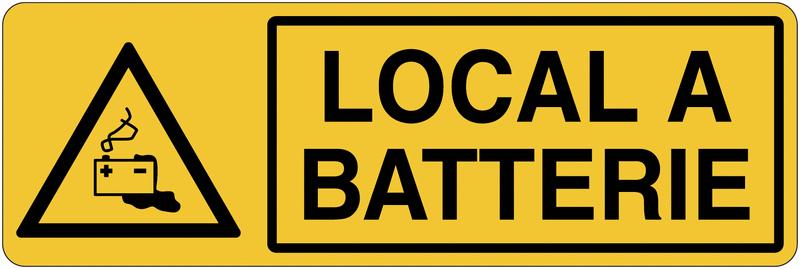 Panneau de charge de batterie - Local à batterie