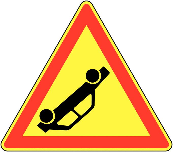 Panneau de signalisation temporaire pour cône Accident
