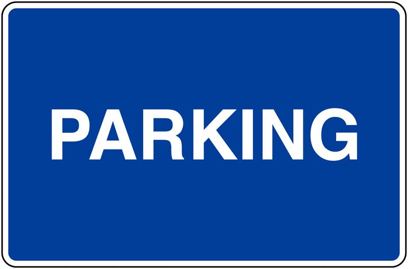 Panneaux d'information de parking - Parking