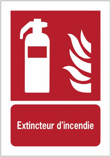 Porte-documents adhésifs à fermeture magnétique Extincteur d'incendie - Panneaux extincteurs et Robinets Incendie Armés (RIA)