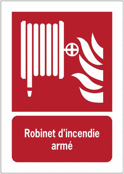 Porte-documents adhésifs à fermeture magnétique Robinet d'incendie armé - Panneaux extincteurs et Robinets Incendie Armés (RIA)
