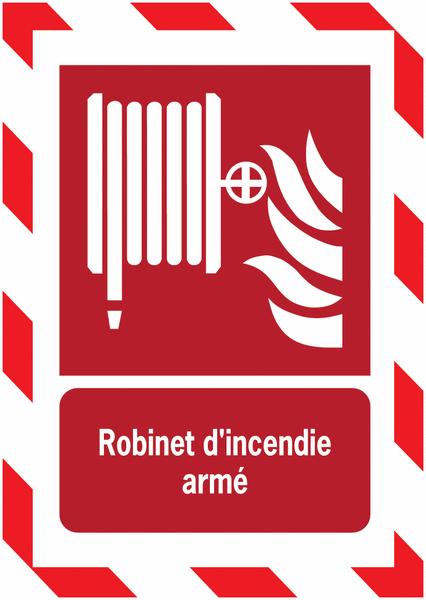 Porte-documents adhésifs à fermeture magnétique Robinet d'incendie armé - Seton