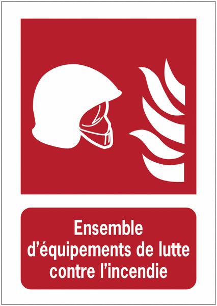 Porte-documents adhésifs à fermeture magnétique Ensemble d'équipements de lutte contre l'incendie - Panneaux extincteurs et Robinets Incendie Armés (RIA)