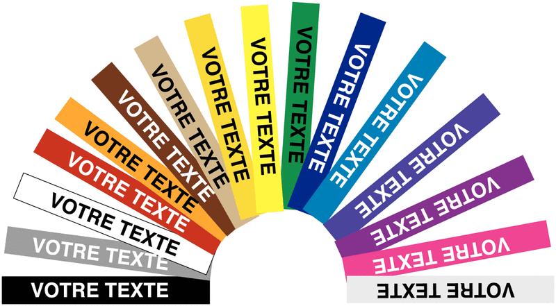 Etiquettes personnalisées en vinyle
