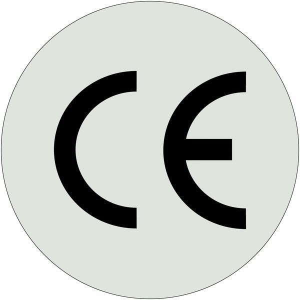 Etiquettes en papier métallisé CE