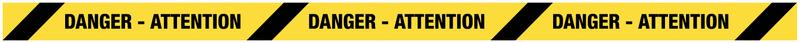 Bandes antidérapantes adhésives avec texte personnalisé