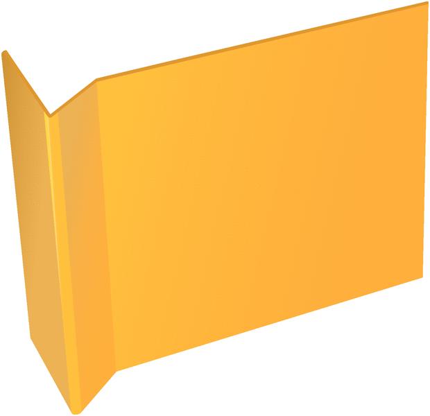 Panneaux vierges magnétiques pour identification des rayonnages