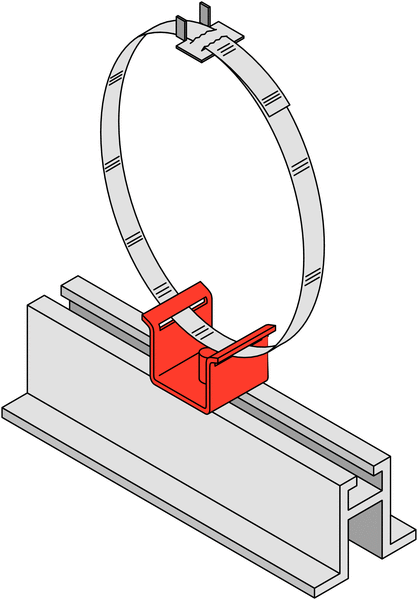 Module de fixation pour panneaux plats - Accessoires de fixation pour poteaux et panneaux