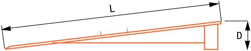 Rampe pour passage d'obstacles à grande capacité de charge - Seton