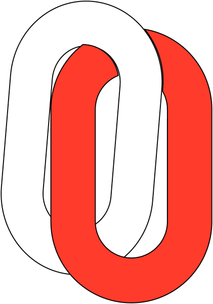Chaîne de signalisation 5m en plastique - Seton