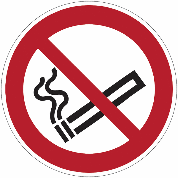 Chevalet de signalisation Interdiction de fumer - P002 - Seton