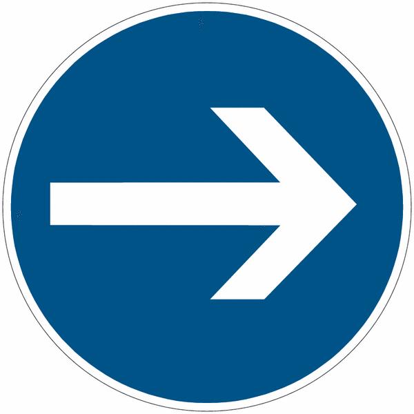 Chevalet de signalisation Flèche directionnelle - Seton
