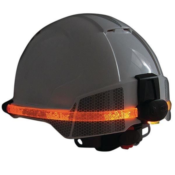 Lumière de sécurité VisiLite™ pour casque de protection Evolite®  - Seton