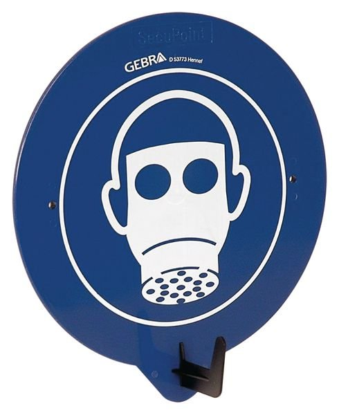 Crochet porte-EPI avec pictogramme Masque de protection respiratoire obligatoire