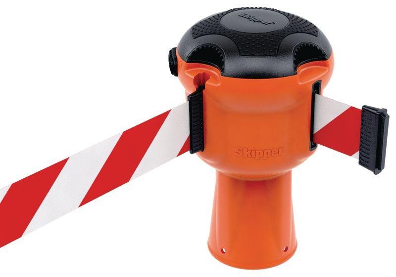Prix Spécial - Kit Skipper™ poteaux, panneau et lampe de sécurité - Rubans de chantier