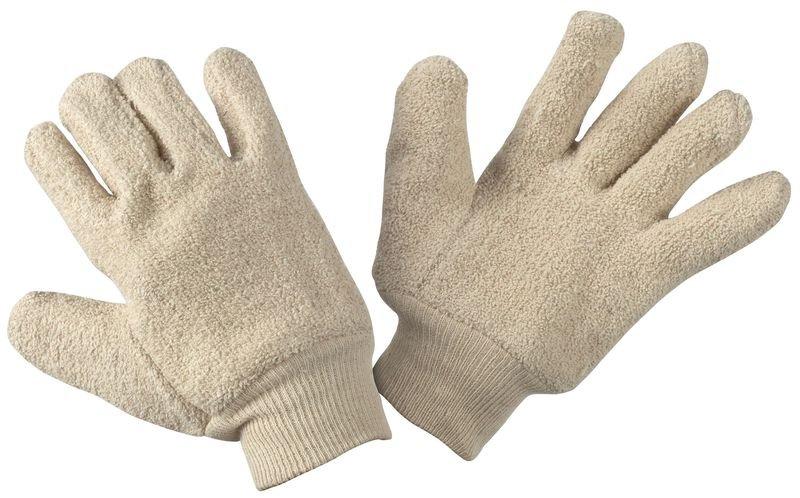Gants anti-chaleur Honeywell en coton avec poignet bord-côte - Seton