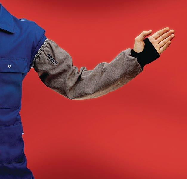 Manchette de protection résistante à la chaleur et à la coupure Safe-Knit® Ansell - Seton