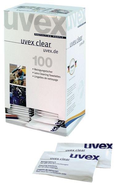 Lingettes Uvex pour lunettes de sécurité  - Seton