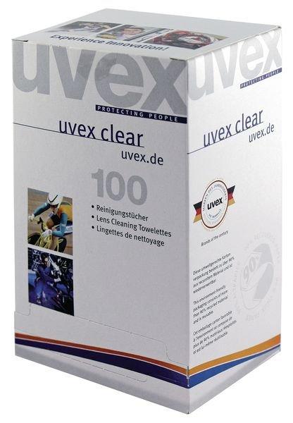 Lingettes Uvex pour lunettes de sécurité  - Lunettes de sécurité